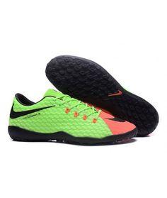 quality design ed2b4 68c13 Nike Hypervenom Phelon III TF NA UMĚLÝ POVRCH zelená černá oranžový muži  kopačky