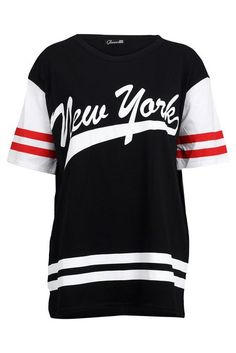 88L Womens Blue York Print Ladies American Football Jersey T-shirt Top Size  12 14  Amazon.co.uk  Sports   Outdoors 71e694dac