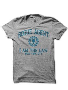 T-Shirts mit Print - Rogue Agent The Division Unisex Shirt - ein Designerstück von MALEK-FLINT bei DaWanda