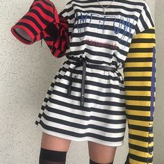 edgy korean fashion that looks great 87644 - - Edgy Outfits, Mode Outfits, Korean Outfits, Grunge Outfits, Pretty Outfits, Summer Outfits, Girl Outfits, Korean Clothes, Fashion 90s