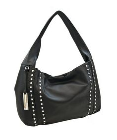 Take a look at this Black Block Party Stud Hobo by Kenneth Cole Reaction on #zulily today!