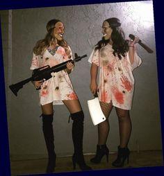Costumes For Teenage Girl, Halloween Costumes Women Scary, Looks Halloween, Best Friend Halloween Costumes, Hallowen Costume, Trendy Halloween, Costume Ideas, Halloween Festival, Halloween Recipe