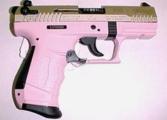 Pink Walther P22...b-day/wedding present from the hubby!
