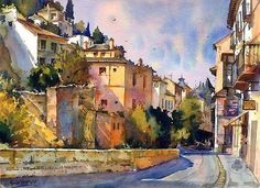 Geoffrey Wynne watercolor