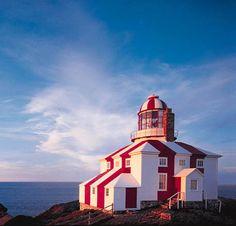 Cape Bonavista lighthouse, (1843), Newfoundland. #travel #canada