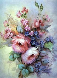 .Rose painting by Igor Levashov- absolutely gorgeous!