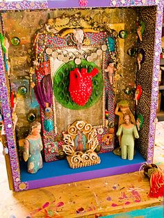Shrines and alters...so unique and expressing intentions and beliefs.