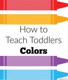 How to Teach Toddlers Colors is part of children Activities For Toddlers - I am a big fan of activities that can be used more than once Toddler Lesson Plans Learning Colors has 50 color lesson plans to teach toddlers colors Toddler Learning Activities, Preschool Lessons, Preschool Activities, Kids Learning, Toddler Color Learning, Preschool Programs, Early Learning, Family Activities, Preschool Colors