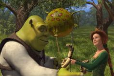 The movie Shrek sends a positive message of true beauty is found within.  Even though Fionna is a beautiful princess she chooses to change herself into a ogre to show Shrek that what's on the inside matters the most.