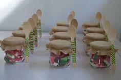 LOS DETALLES DE BEA: Botes de chuches para Pippa's
