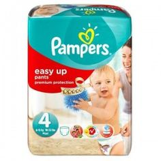 Pack 42 Couches de la marque Pampers Easy Up taille 4 sur Promo Couches