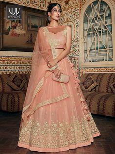 Rs6,100.00 Lehenga Skirt, Net Lehenga, Pink Lehenga, Lehenga Blouse, Bridal Lehenga Choli, Ghagra Choli, Indian Lehenga, Net Blouses, Party Wear Lehenga