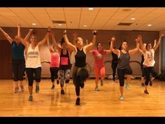 "Excellent easy-to-follow dance fitness choreography to ""Side to Side"" by Ariana Grande and Nicki Minaj. If you are experiencing any knee problems, substitute..."