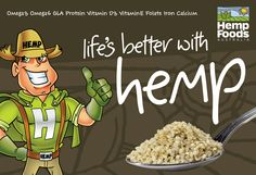 Life is better with www.hempfoods.com.au