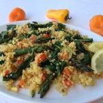 Heavenly Quinoa with Asparagus - Vanessa Chamberlin
