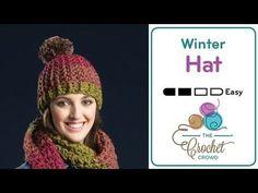ff031abc8c1 Crochet Artsy ⛄ Puff Stitch Hat + Tutorial - The Crochet Crowd Chunky Crochet  Hat