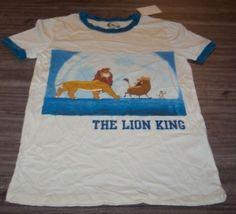 19.80$  Buy here - http://vinmz.justgood.pw/vig/item.php?t=iv8g7u43377 - WOMEN'S TEEN VINTAGE STYLE Walt Disney LION KING T-shirt XS NEW w/ TAG 19.80$