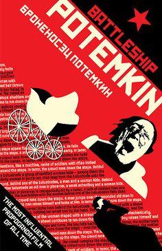 Battleship Potemkin - Sergei Eisenstein Intense editing montages breakthrough in cinema storytelling, watch Odessa step sequence ~ Helen