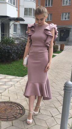 new fashion prom dress , sexy dress Tailoring Dresses Simple Dresses, Elegant Dresses, Pretty Dresses, Beautiful Dresses, Short Dresses, Dresses Dresses, Casual Dresses, Tight Dresses, Formal Dresses