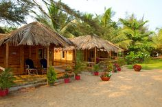 Rama Resort In Agonda Beach Is A Goa Beach Resort Designed Wooden Beach Huts Set In