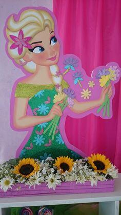 Aplique en.foami Foam Sheet Crafts, Foam Crafts, Diy And Crafts, Paper Crafts, Sunflower Birthday Parties, Frozen Characters, Applique Quilt Patterns, Foam Sheets, Ideas Para Fiestas