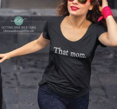 mom shirt that mom off the shoulder loose by CEdesignsByAshley