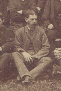 Henry Casswell came to Cranleigh in its first year and Joseph Merriman recommended to the governing body that he be retained as an assistant master when the time came for him to leave in 1870. He remained at the School until 1894. In an era when masters played for the School, he scored 3836 runs and took 736 wickets for Cranleigh; he also excelled for a variety of local club sides. You can find out more about his life at Cranleigh School on the 1865 website.