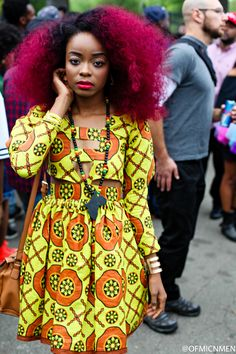 AFROPOLITAN - blackandkillingit: colorfulcuties: ...