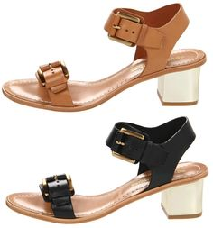 Seen on KnightCat.com and available on ISAAY.com the Ilissa Sandal. - WANT $218.00