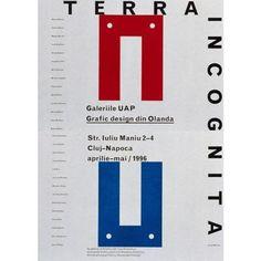 Karel MartensTerra Incognita - Galeriile UAP - Grafic Design din Olanda