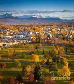 Anchorage, Alaska. A gorgeous state!