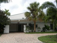 Great home on water with no fixed bridges. Upstairs master suite with deck and separate entrance from outside as well as interior staircase. Open first floor layout with large screened in Florida room. Renovated kitchen with granite counters and new cabinets.