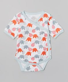 Another great find on #zulily! Red Elephant Organic Bodysuit - Infant by Origany #zulilyfinds
