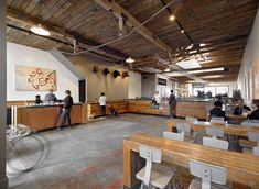 Four Barrel Coffee by Boor Bridges Architecture – San Francisco, California
