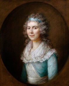 Caroline Anne Horde by Gainsborough Dupont