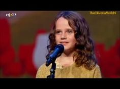 "With no prior vocal training or coaching, a nine-year-old girl stuns judges on ""Holland's Got Talent"" with her   voice."
