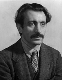 Arshile Gorky born Vostanik Manuk Adoyan (April 15, 1904? – July 21, 1948) was an Armenian American painter, who had a seminal influence on Abstract Expressionism. As such, his works were often speculated to have been informed by the suffering and loss he experienced of the Armenian Genocide.