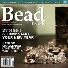 Bead Trends Magazine Jan 2012   Northridge Publishing