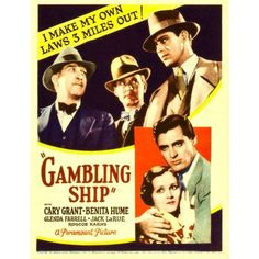 Gambling Ship Canvas Art - (11 x 17)