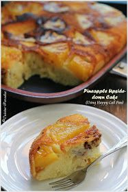 Cuisine Paradise   Singapore Food Blog   Recipes, Reviews And Travel: {Happy Call Pan Version} Pineapple Upside-down Cake