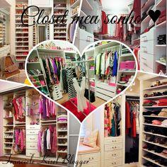 Franciele Kisel: Inspire-se na decoração projetos de closet