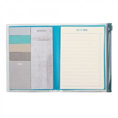 Get Organised A6 ziplock multi list book - NEW - Stationery - New for Winter