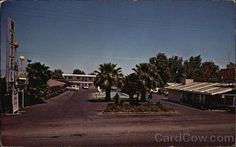 Desert Star Motel Blythe California - where I grew up.