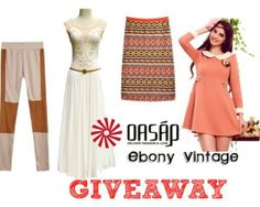 Ebony Vintage: Giveaway Oasap & EbonyVintage (International)