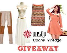 Ebony Vintage: Giveaway Oasap & EbonyVintage (International)