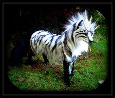-SOLD- Posable Siberian Arctic Wolf by Wood-Splitter-Lee.deviantart.com on @deviantART