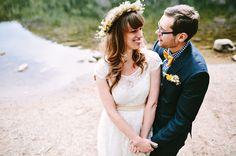 Indie Woodland Wedding: Amanda + Andrey