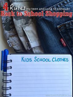 4 rules my teen and I use to conquer back to school shopping #ad http://www.apronsandstilletos.com/2016/08/4-rules-my-teen-and-i-use-to-conquer.html  #Levis #sk