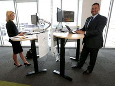 NEW research from the University of Sydney has found that workers who use sit-stand desks are just as productive as those who use traditional desks, while also reporting feeling more energised, more productive and being more satisfied. Workrite Ergonomics, Traditional Desks, University Of Sydney, Sit Stand Desk, Workplace, Productivity, Health And Wellness, Study, Country