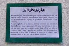 Arte Urbana - Intervenção